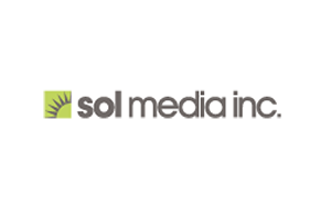 株式会社ソル・メディア / sol media inc.ロゴ
